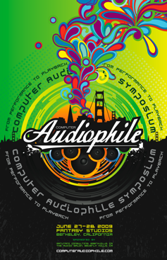 Computer Audiophile Symposium Poster