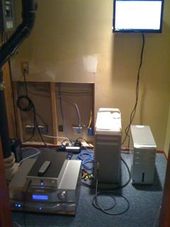Computer Audiophile Music Server Closet