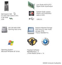 Dell 530 Music Server