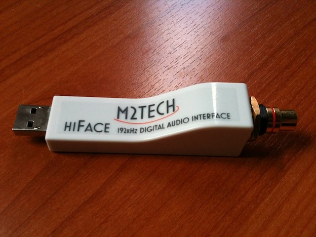 Computer Audiophile - M2Tech hiFace Asynchronous USB To S ...