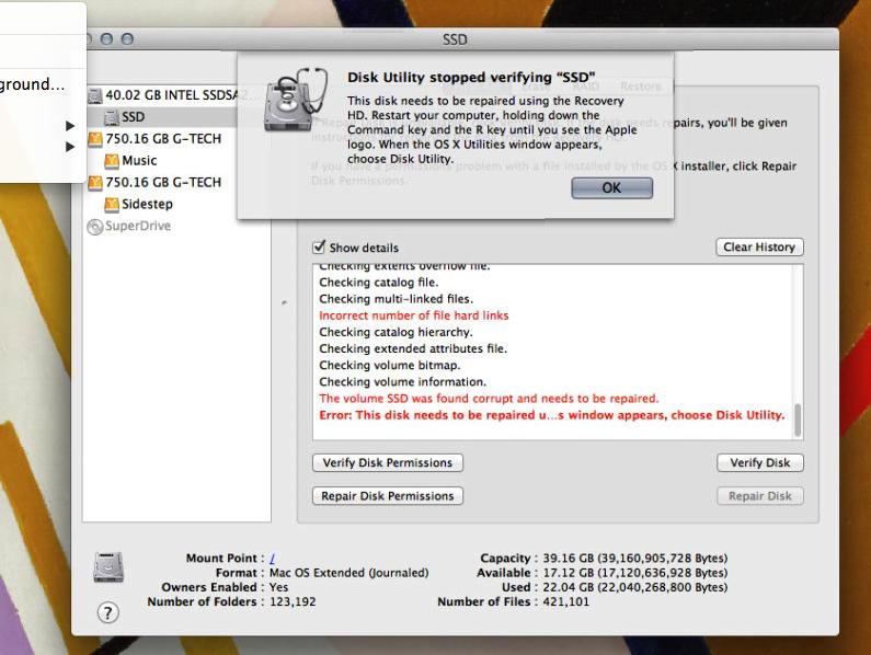 Hard drive recovery utility on a headless Mac Mini - Music Servers