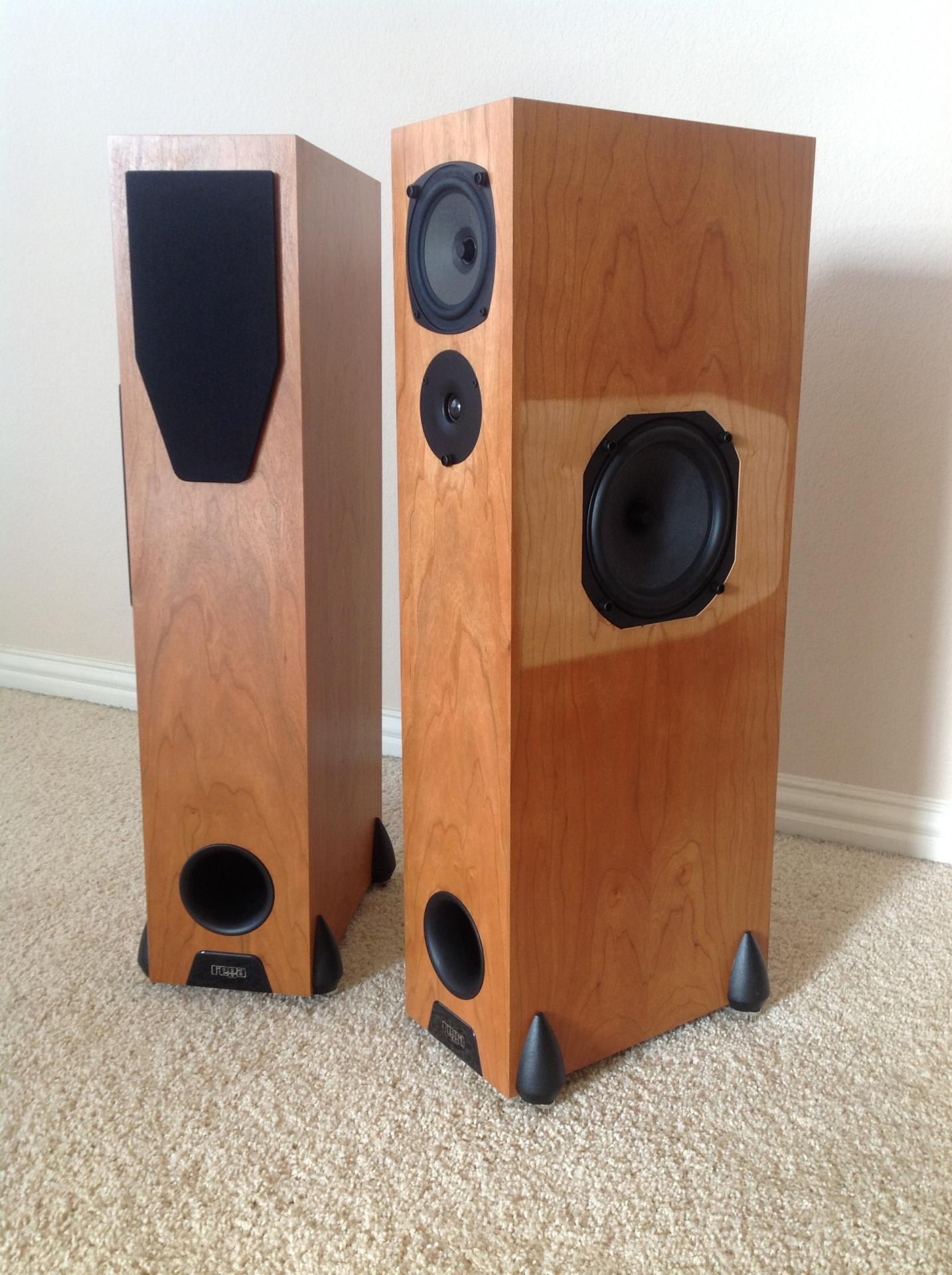 how to make floor standing speakers