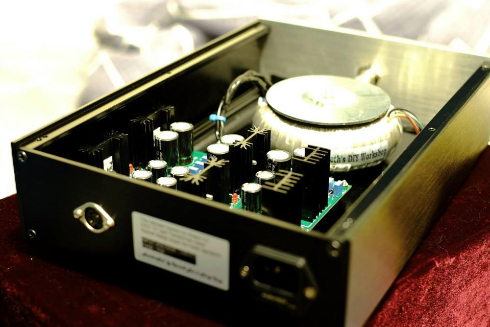 Handcrafted Audiophile Linear Power Supply by Kenneth Lau - Buy