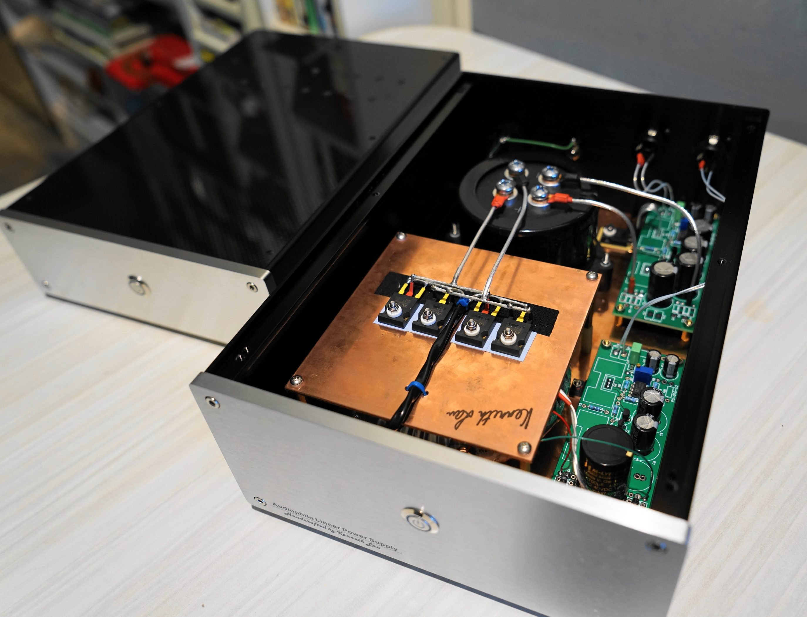 Handcrafted Audiophile Linear Power Supply by Kenneth Lau - Page 3