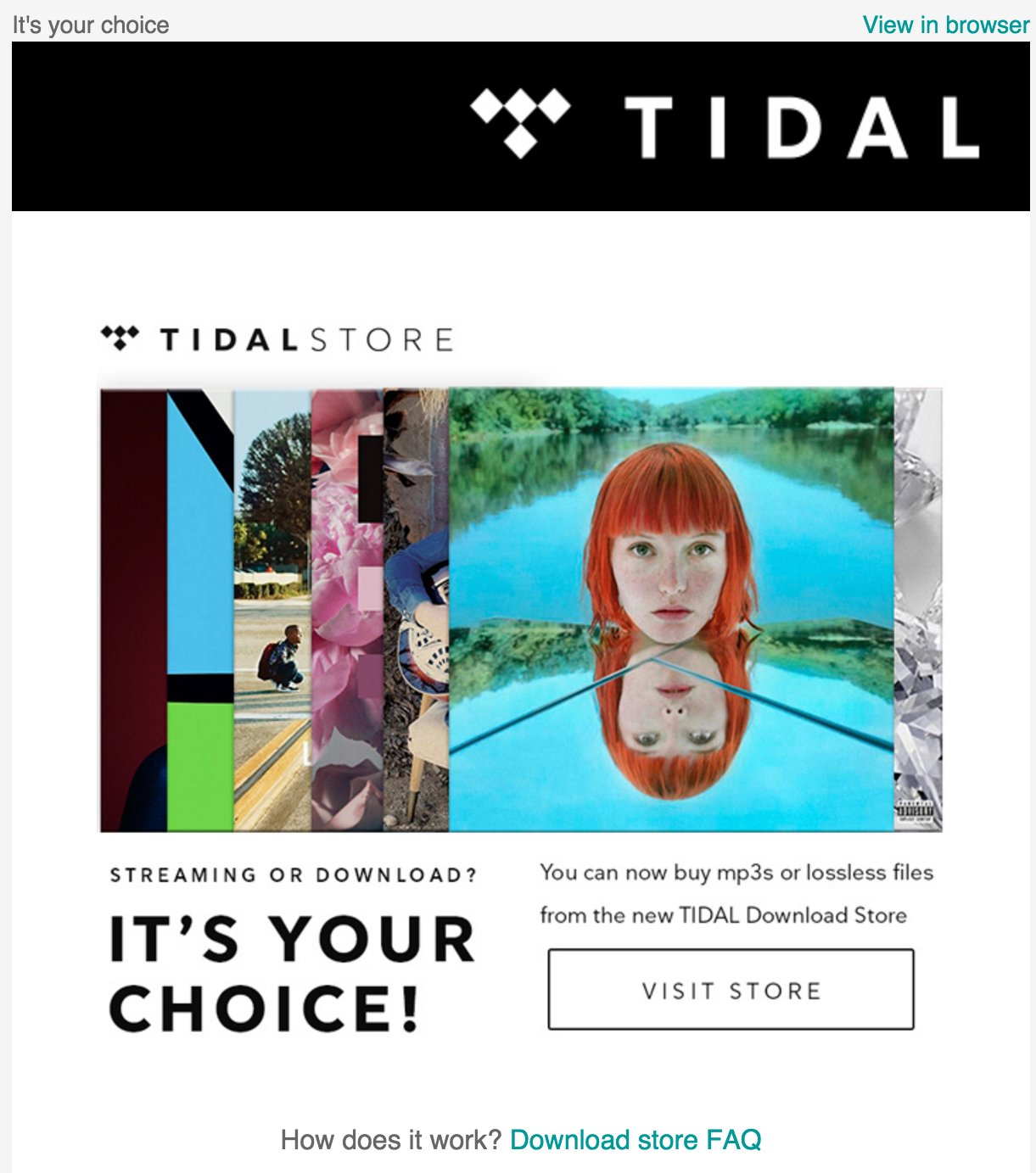 TIDAL Download Store - Music Downloads & Streaming - Audiophile Style