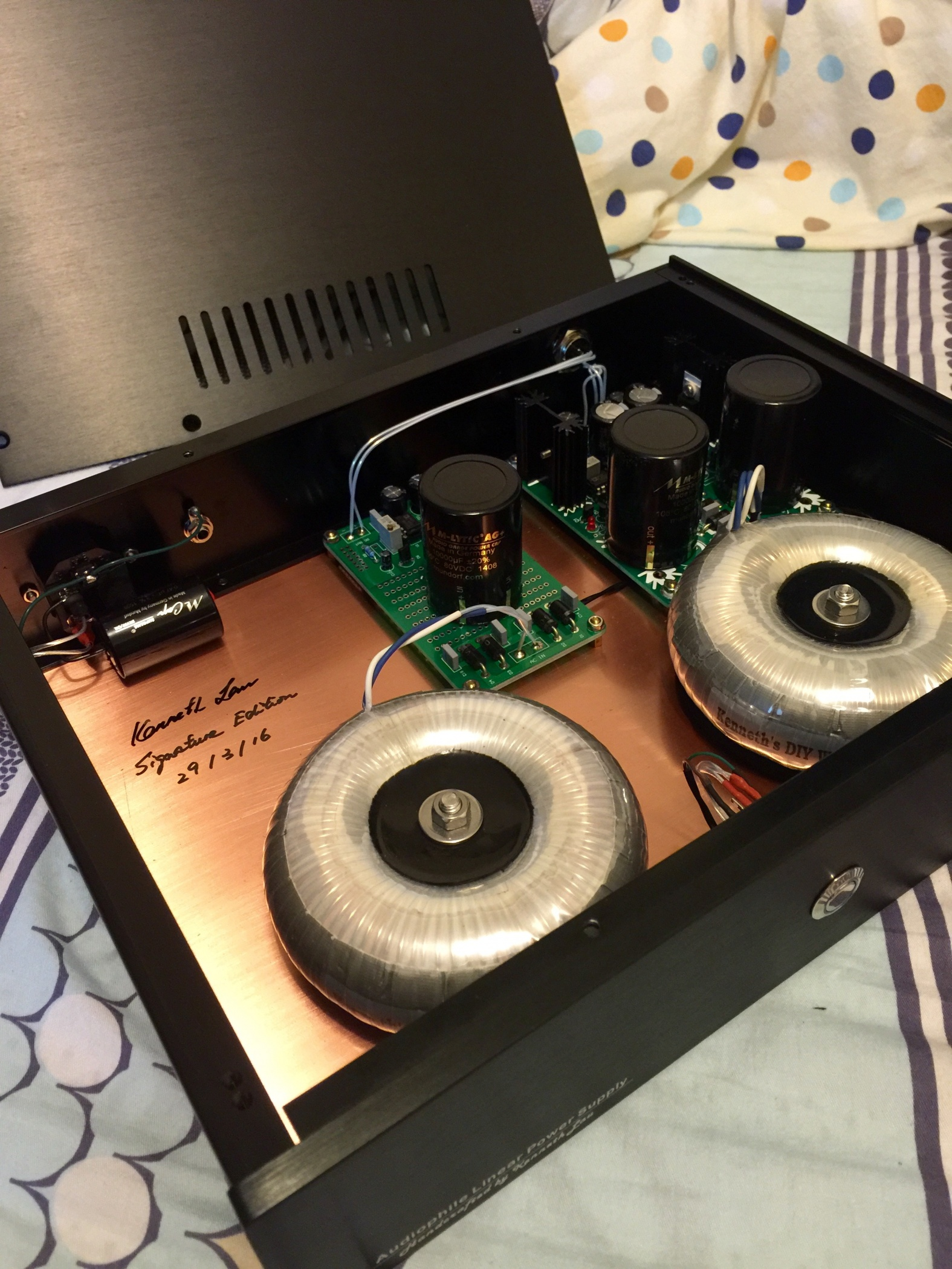 Handcrafted Audiophile Linear Power Supply by Kenneth Lau - Page 6