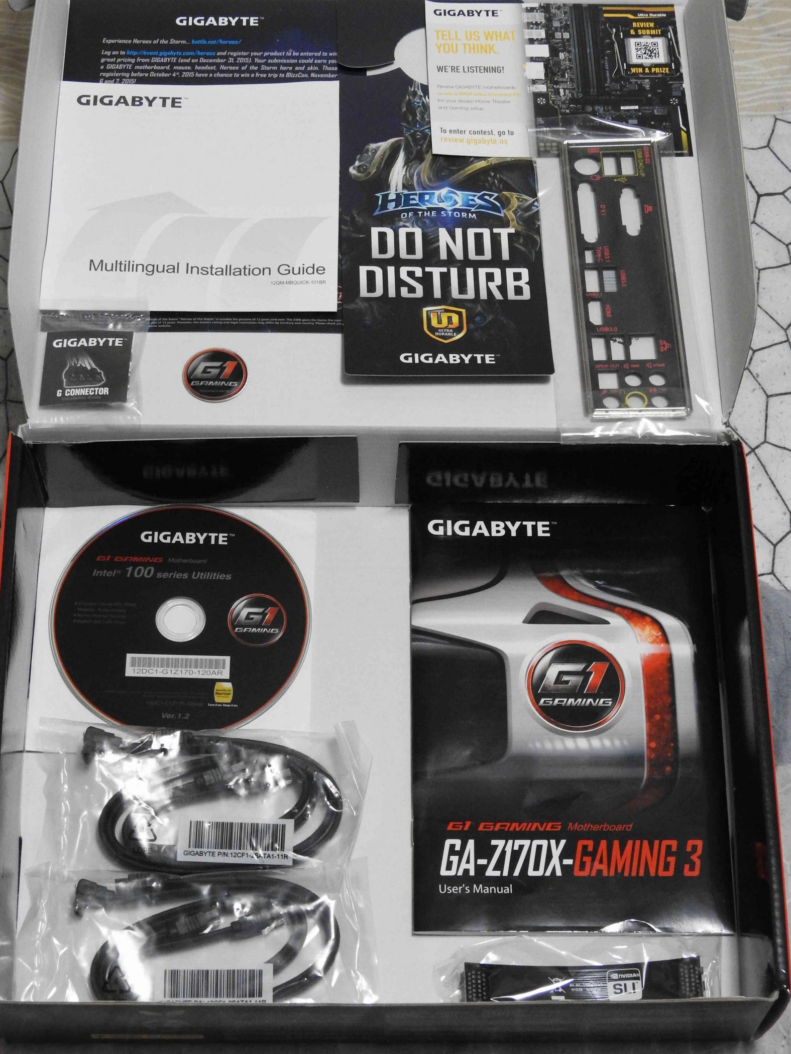Gigabyte Ga Z170x Gaming 3 Skylake Motherboard For Audio Buy G1 Socket 1151 G3 Mb 4