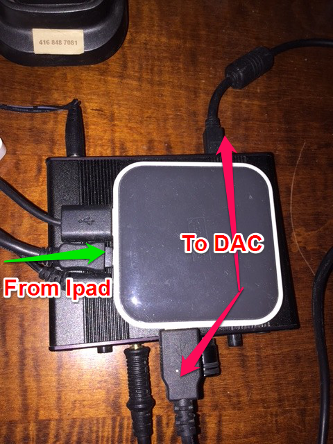 How To Connect iPad Directly To DAC For Streaming