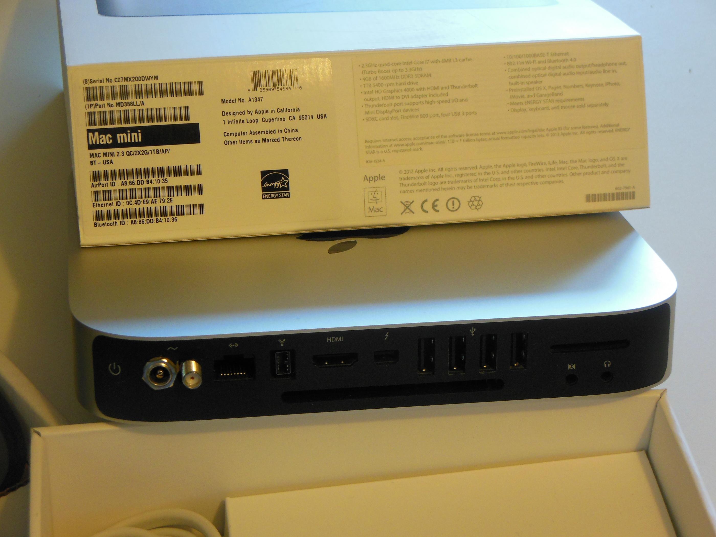 2012 Quad Core Mac Mini i7 with Uptone Audio MMK - Buy