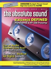 The Absolute Sound HP-200 Cover