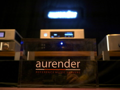 Aurender room at the Seoul International Audio Show