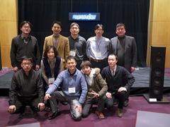 Part of the Smart Audio Division team