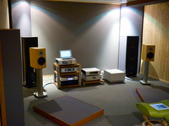 Smart Audio Division listening room