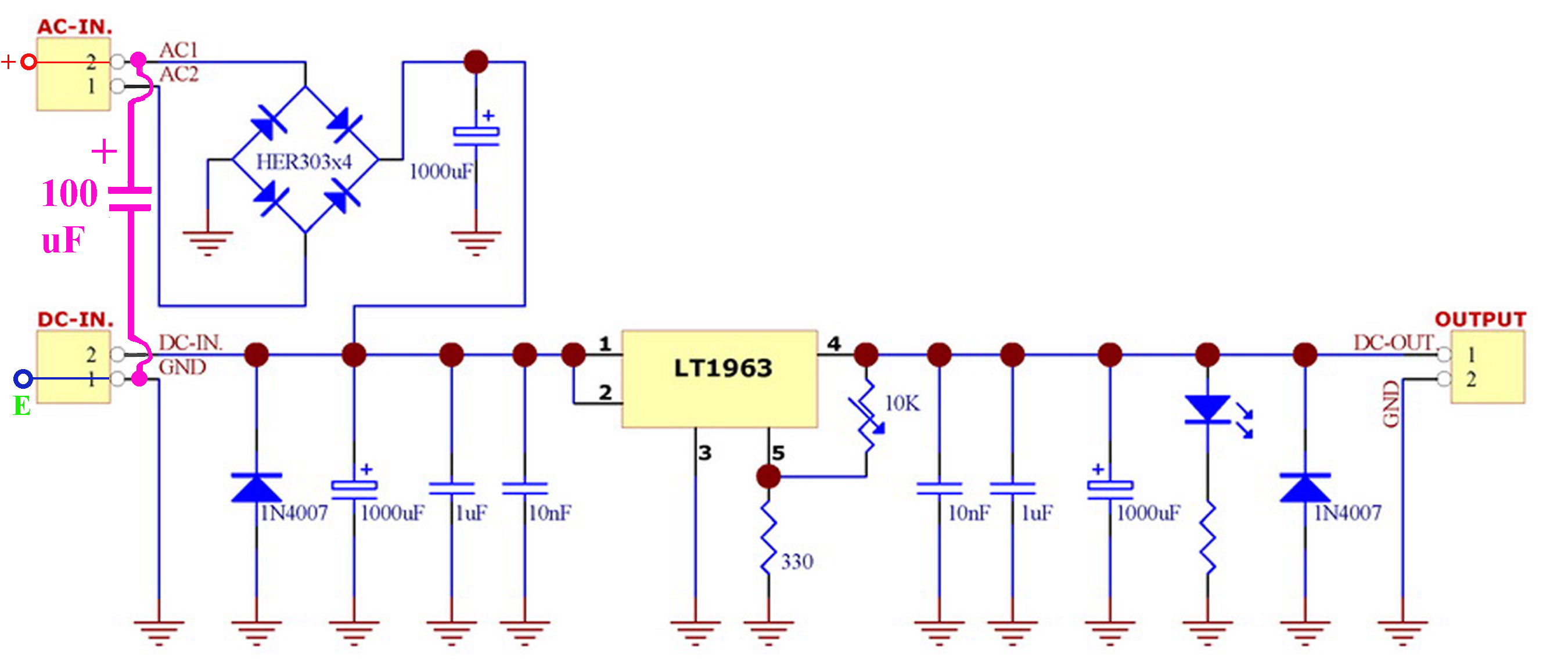 The True Experimental Tweak Thread Page 139 Networking Lm317 Lm338 Lm350 Voltage Regulator Calculator Schematic 40uv Modified