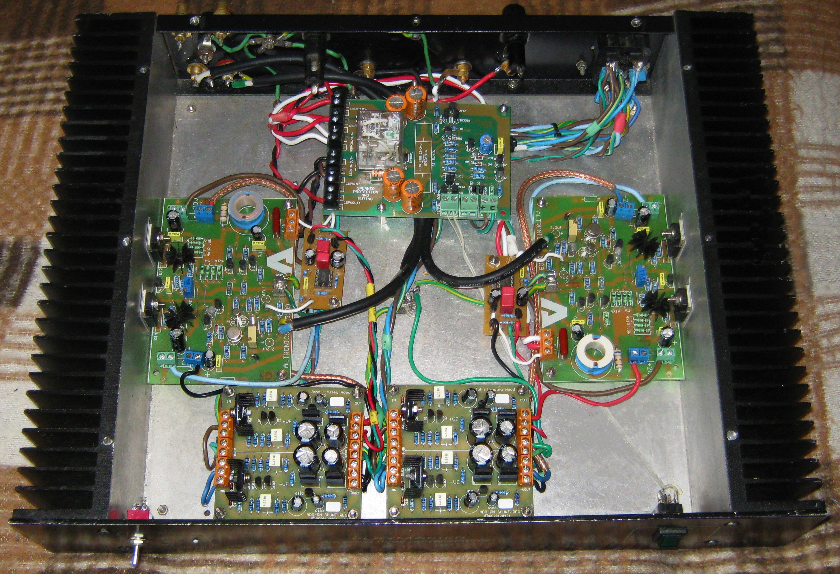 Off The Grid Stereo Tube Vs Solid State General Forum Computer 15w Class B Audio Amplifier A With New Gen Ge Jlhs