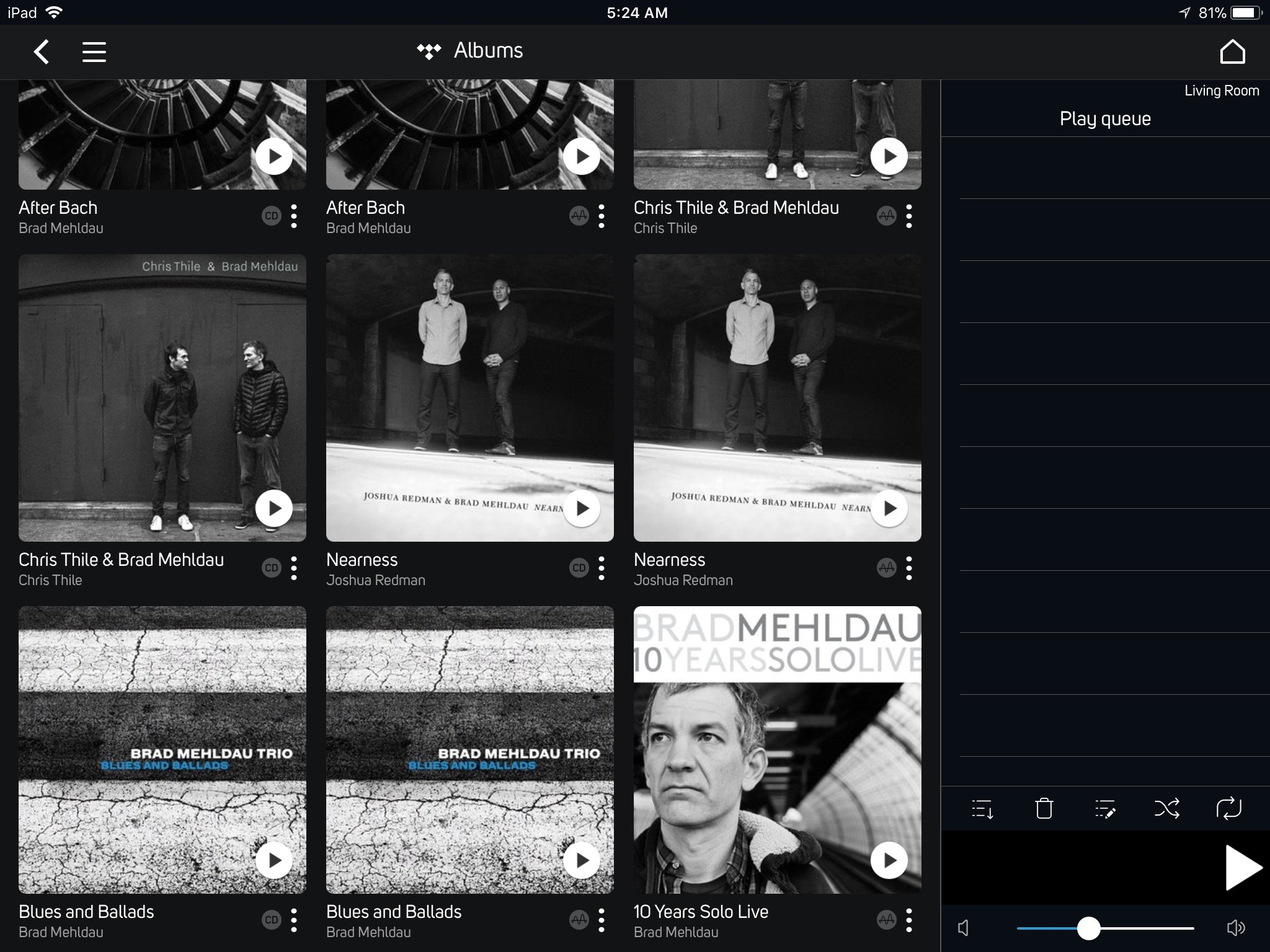 TIDAL on iPad: How can I see what albums are MQA? - Networking