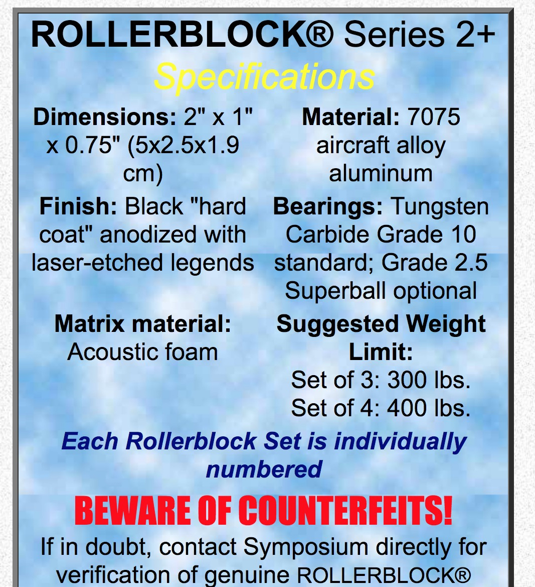 Vibration Air & Roller Bearings - Thanks to Barry & Warren - Page 15 ...