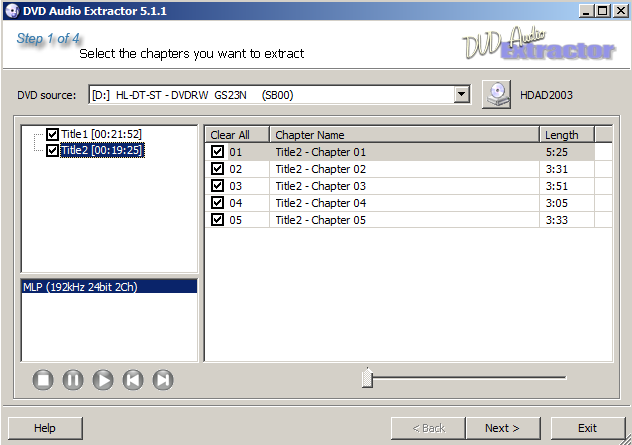 How To Rip DVD-Audio, DVD-Video (Audio) And HDAD Discs - CA