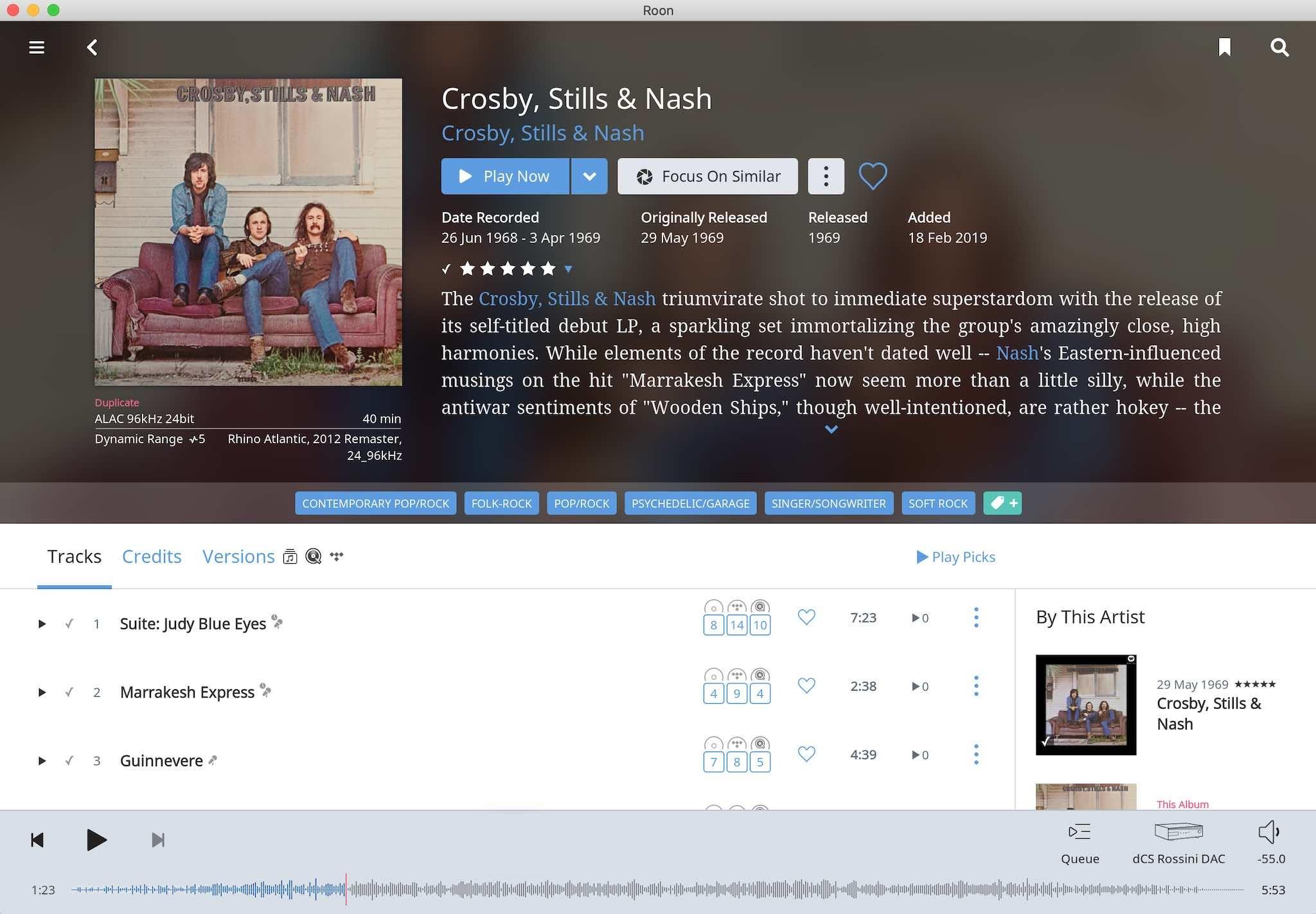 The Best Version Of… Crosby, Stills & Nash Self-Titled Debut