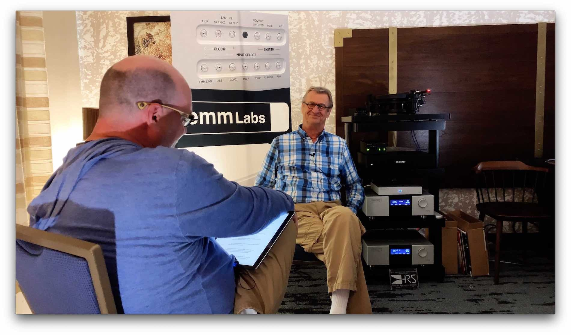 Ed Meitner Discusses DS Audio, Optical Phono Pre, One Bit, MQA, and More