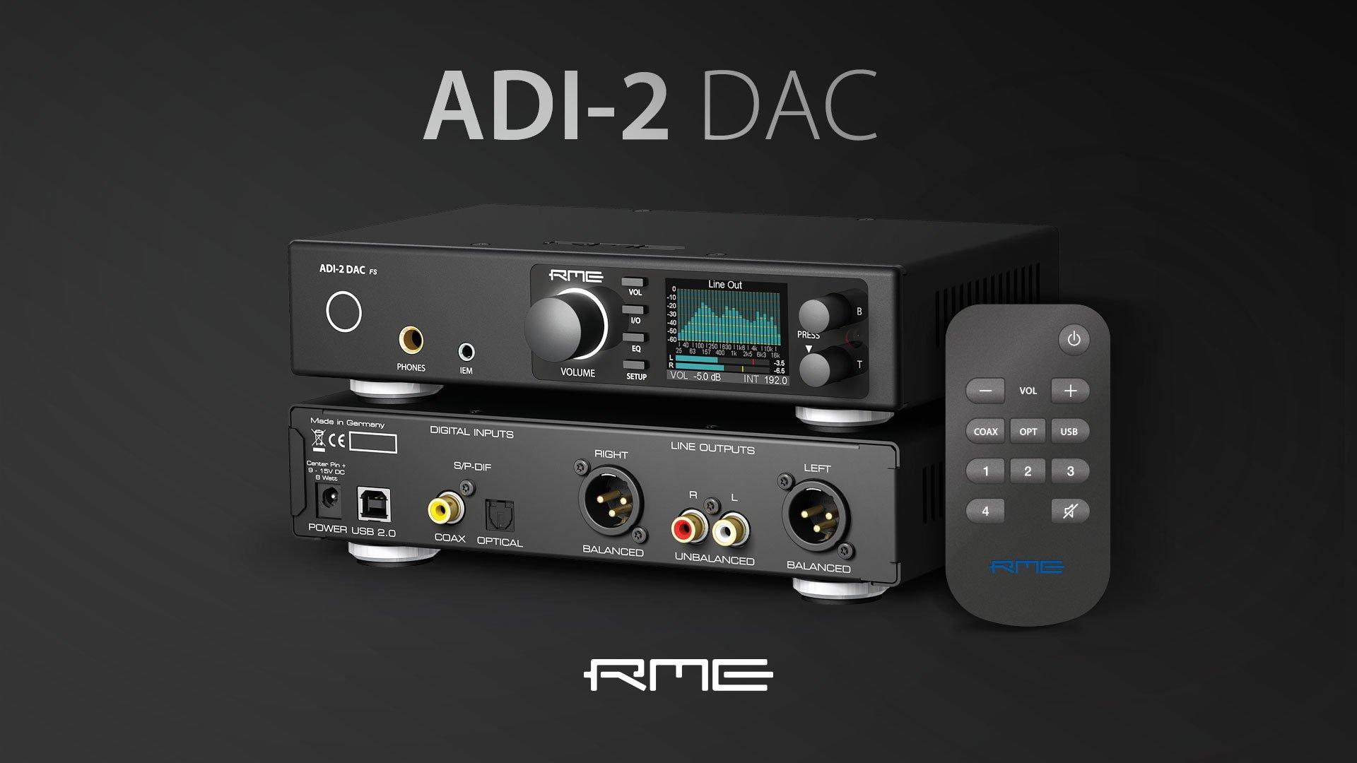 RME ADI-2 DAC FS Review