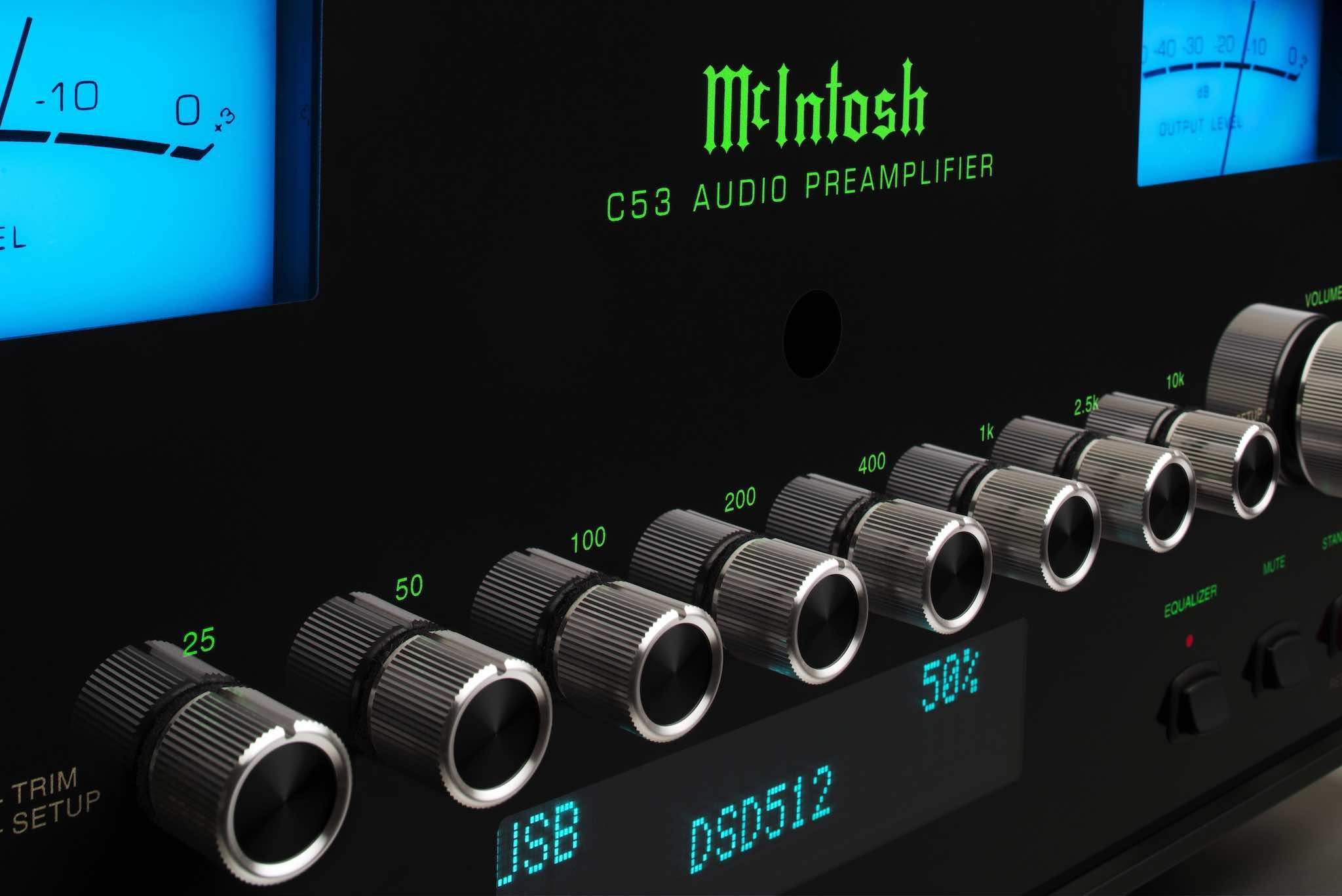 McIntosh Labs C53 Preamplifier Review