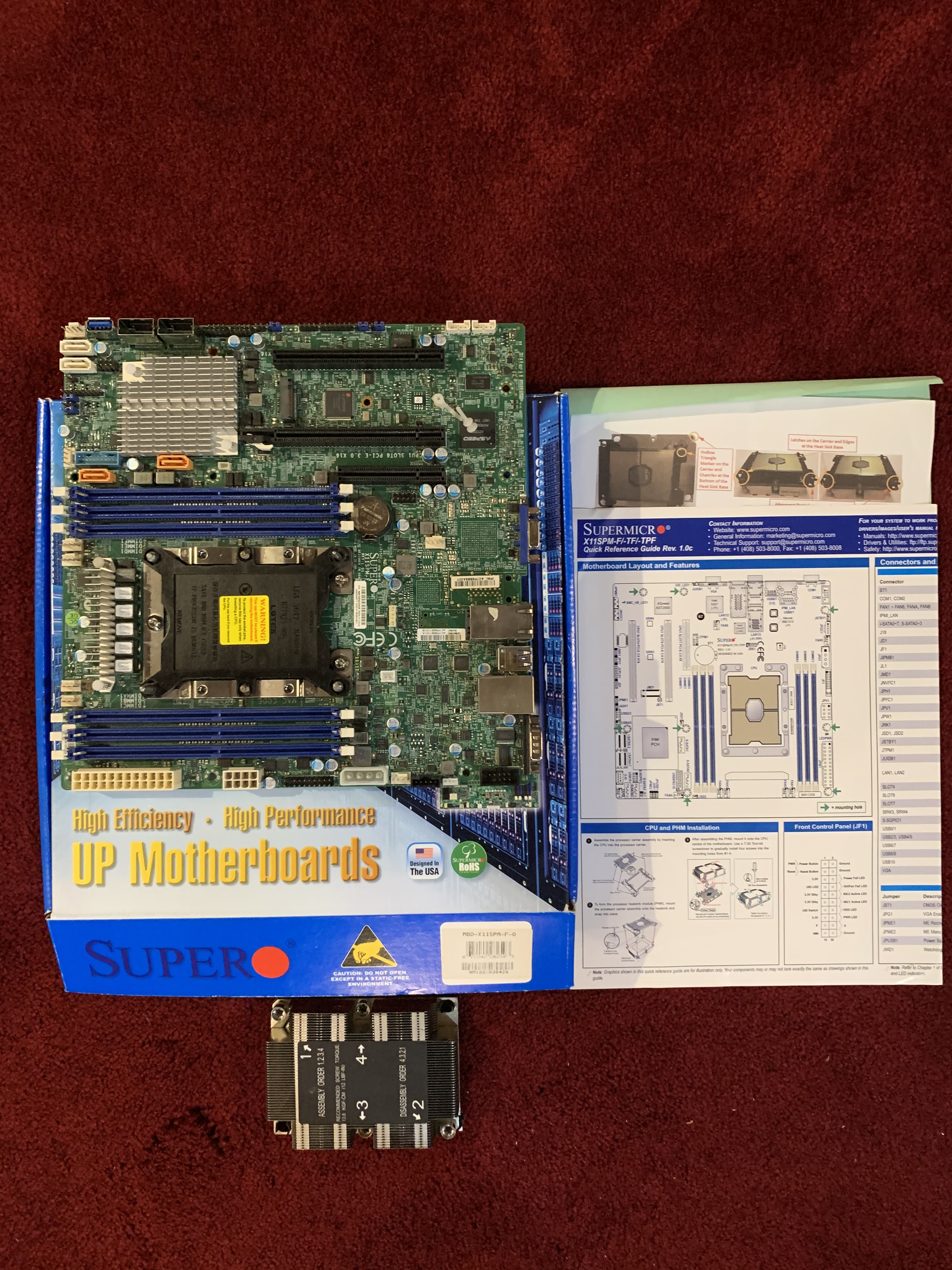 SuperMicro Scalable XEON Motherboard $200 Shipped