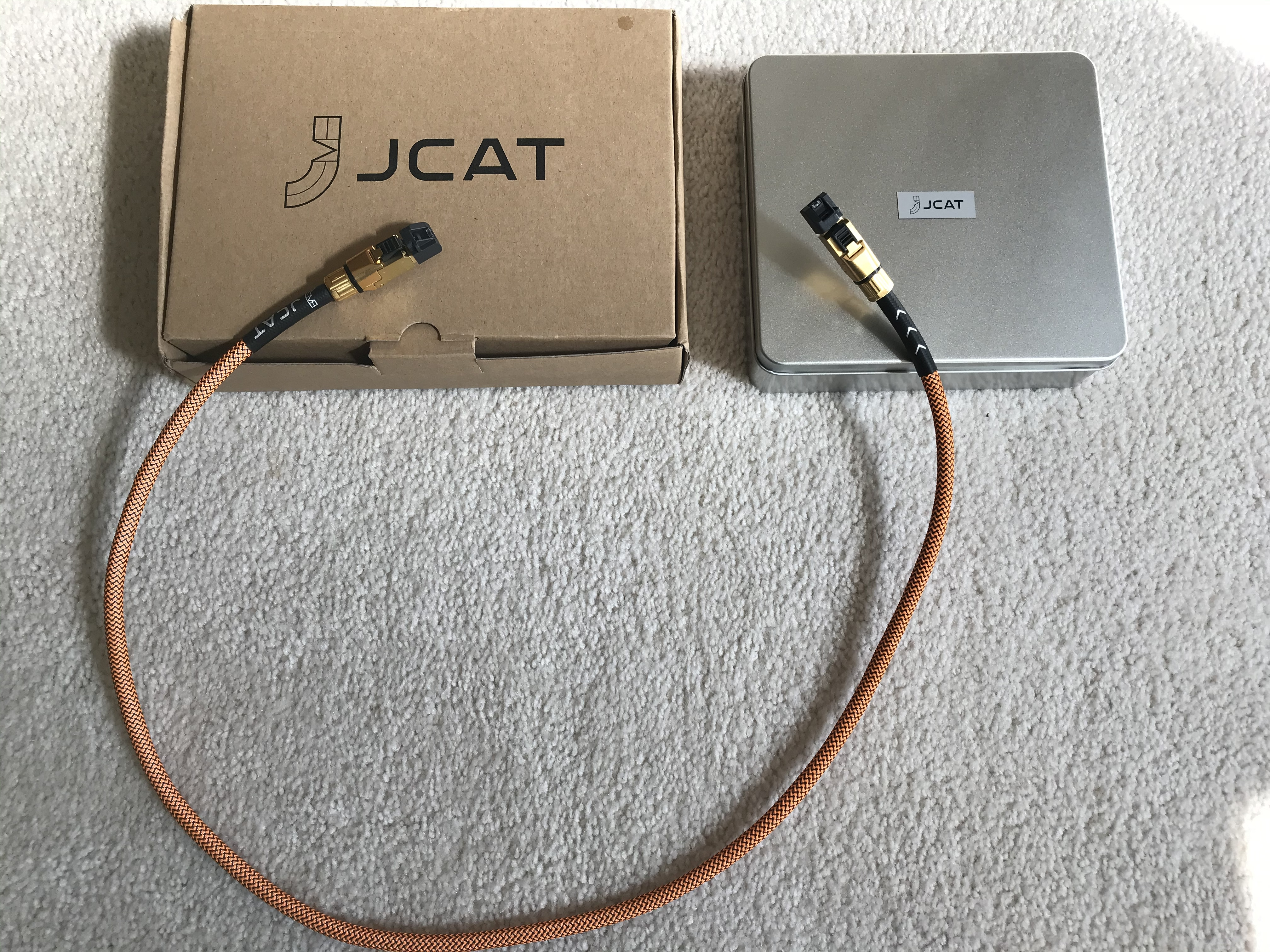 JCAT Signature Gold Ethernet cable 1 meter