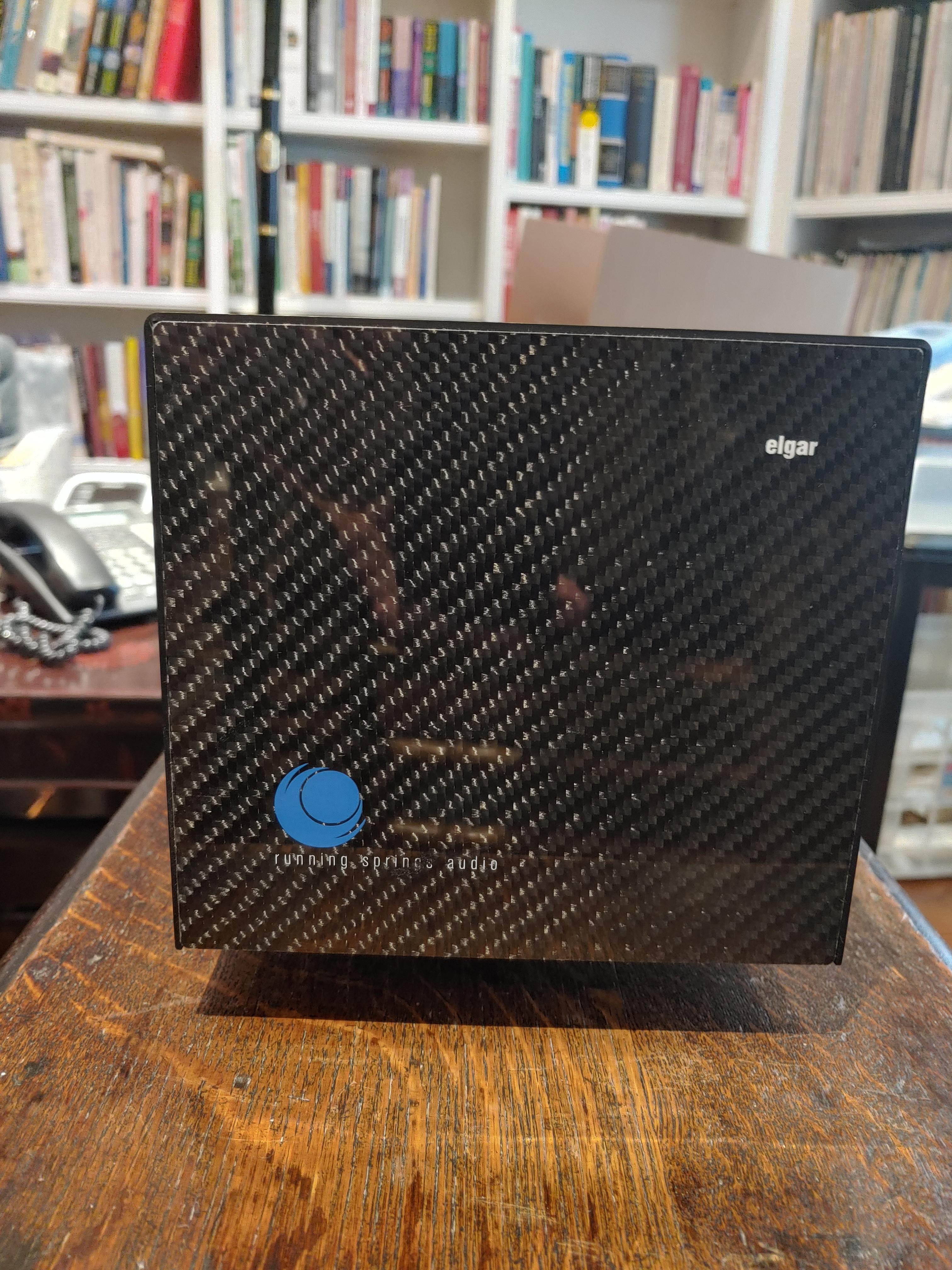 Running Springs Audio Elgar Power Conditioner and Voodoo Ultra Wave Powercord