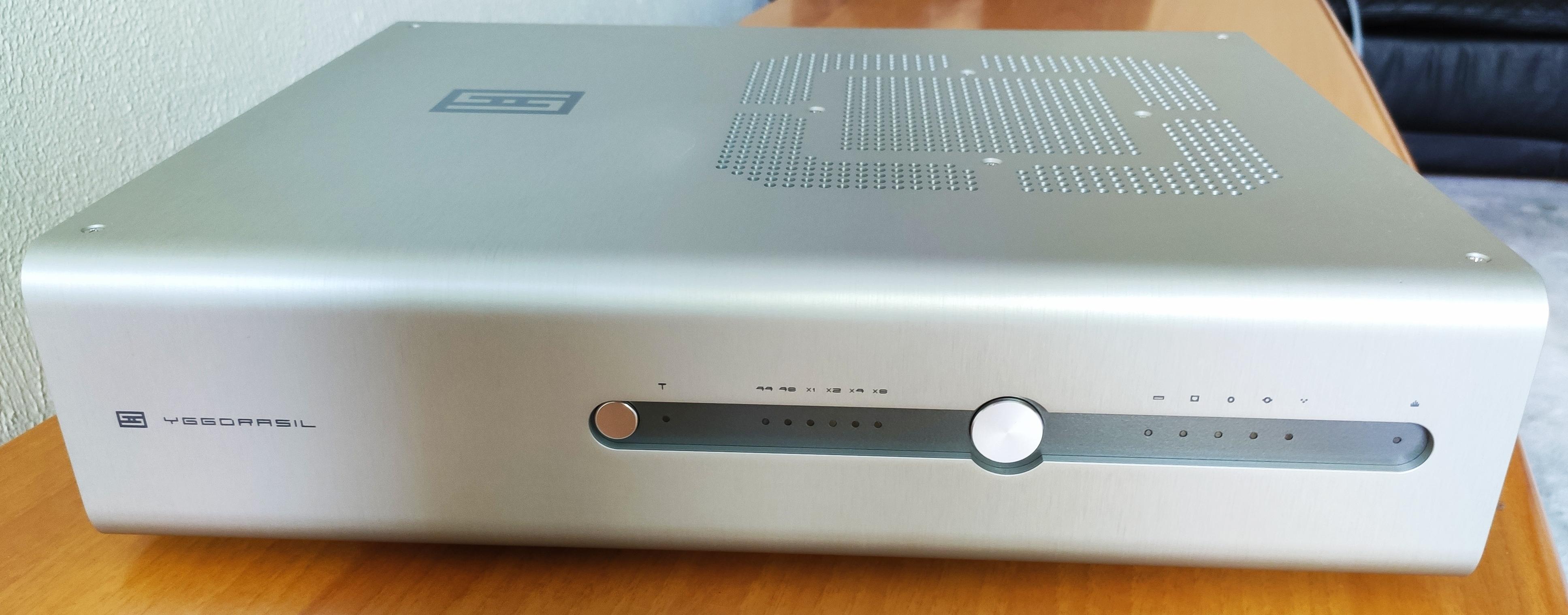Schiit Yggdrasil: A2, Unison USB, Silver