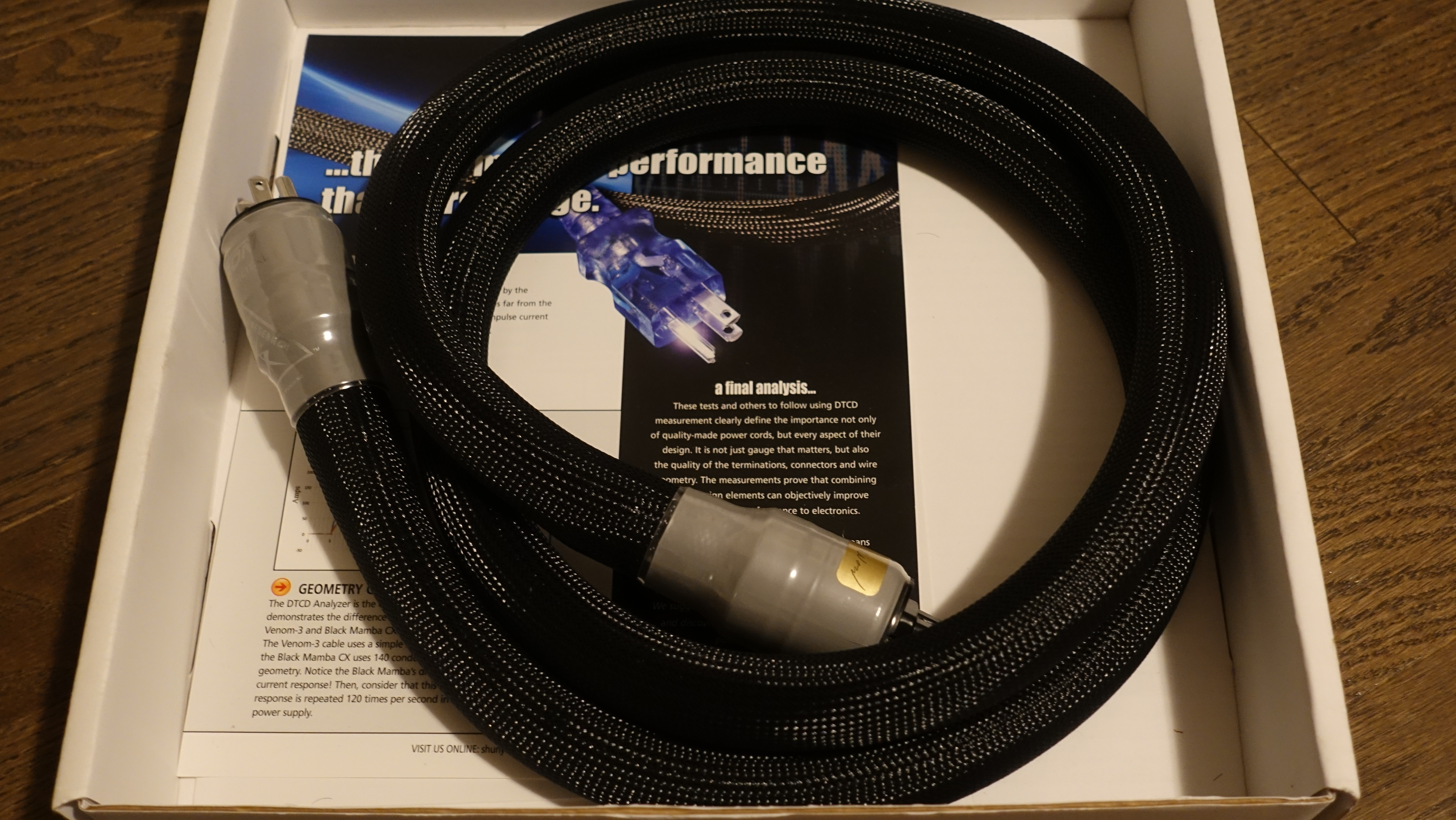 Shunyata Zitron Alpha Digital Power Cord