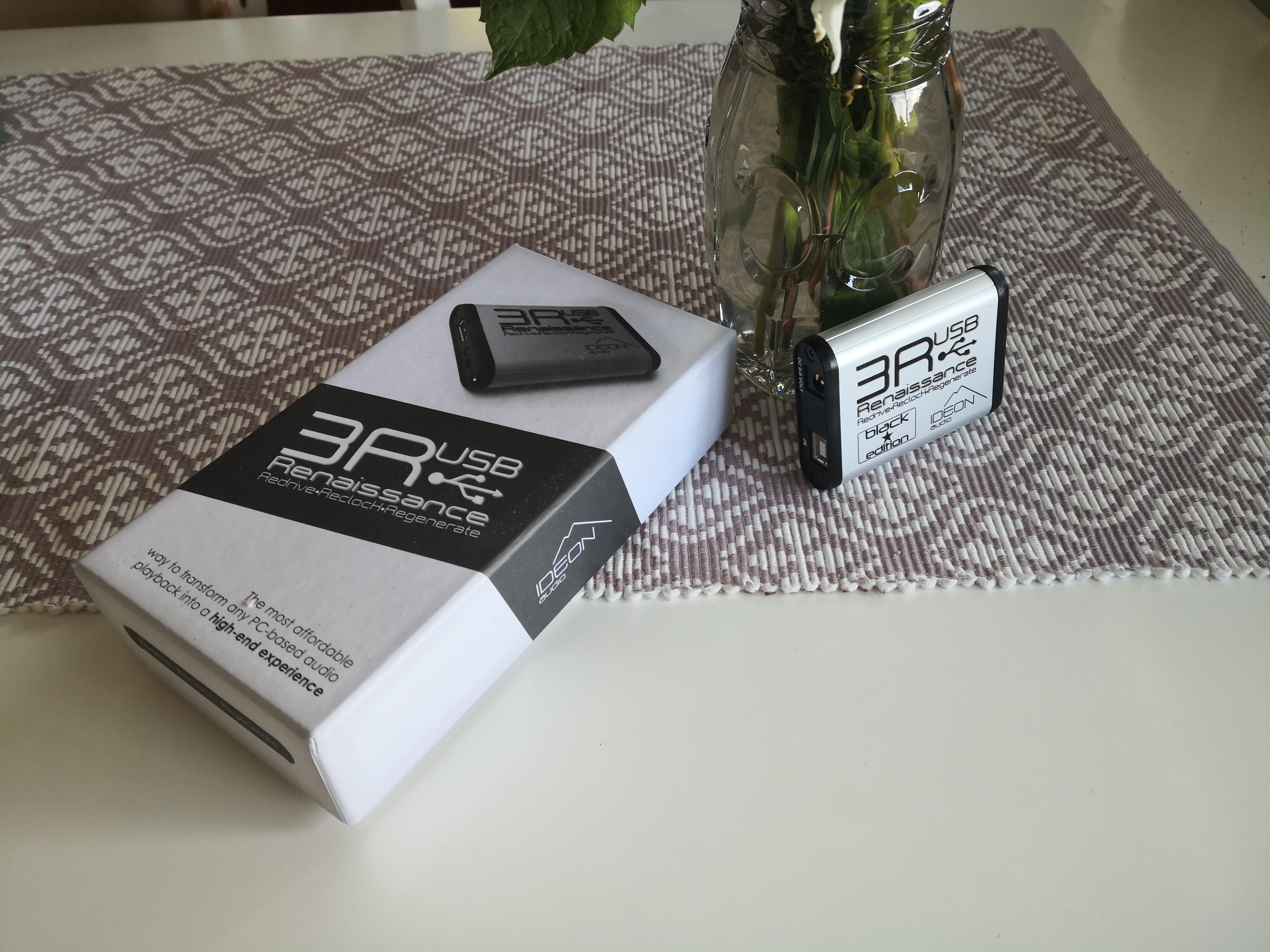 IDEON AUDIO 3R MKII Blackstar USB reclocker (sale from EU)