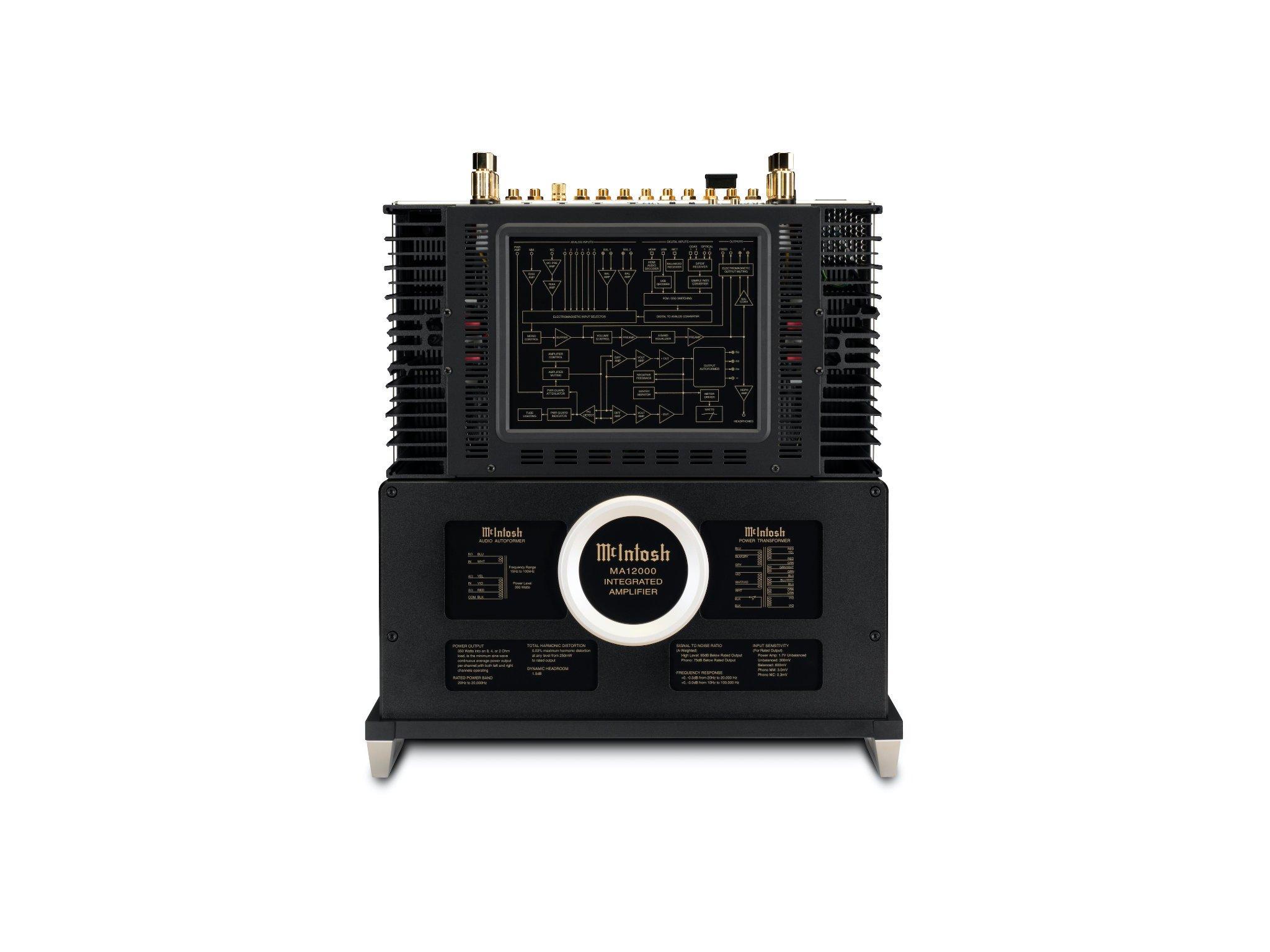 McIntosh MA12000 Integrated Amp