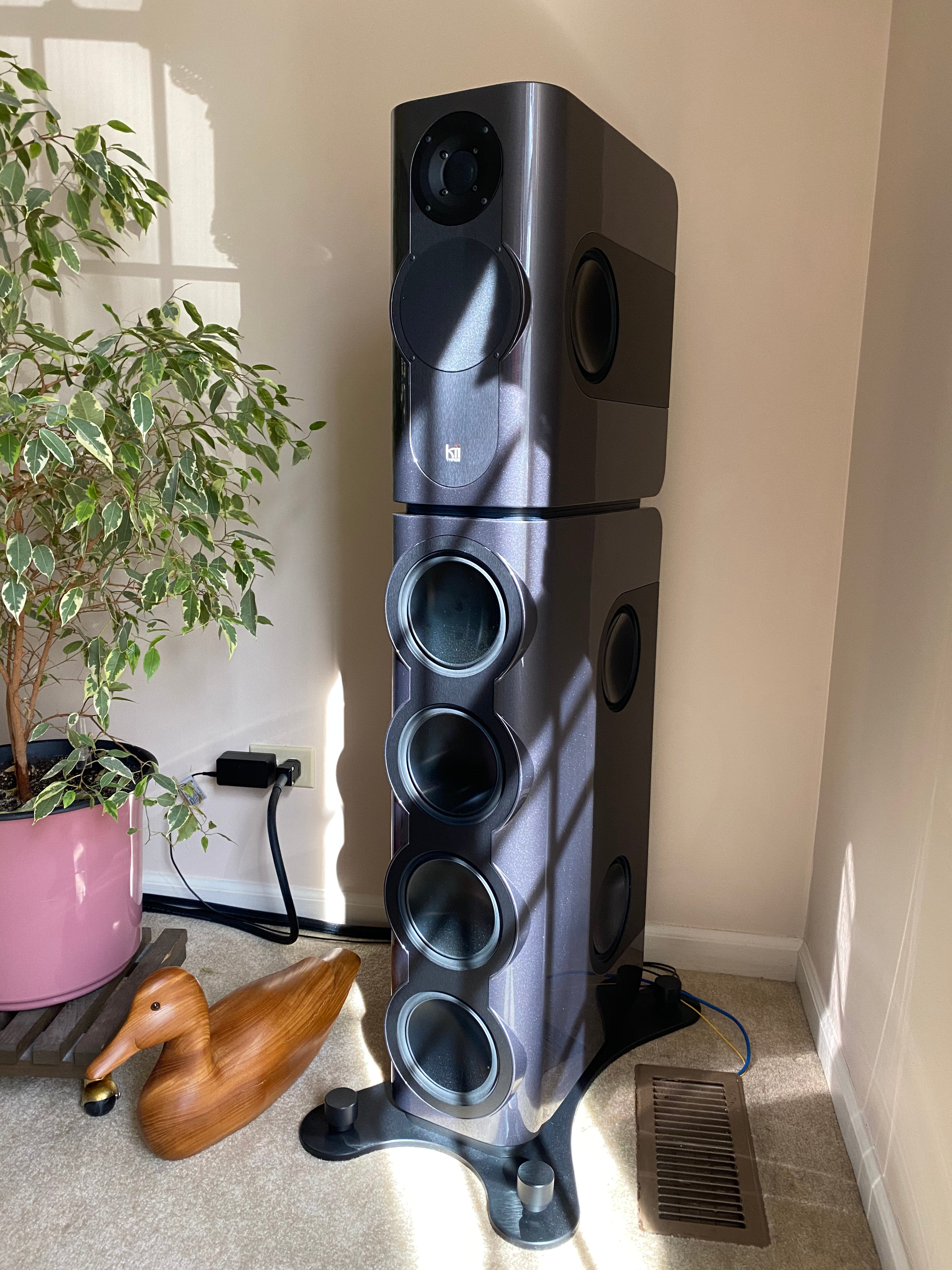Kii Three Speakers with BXT and Kii Control