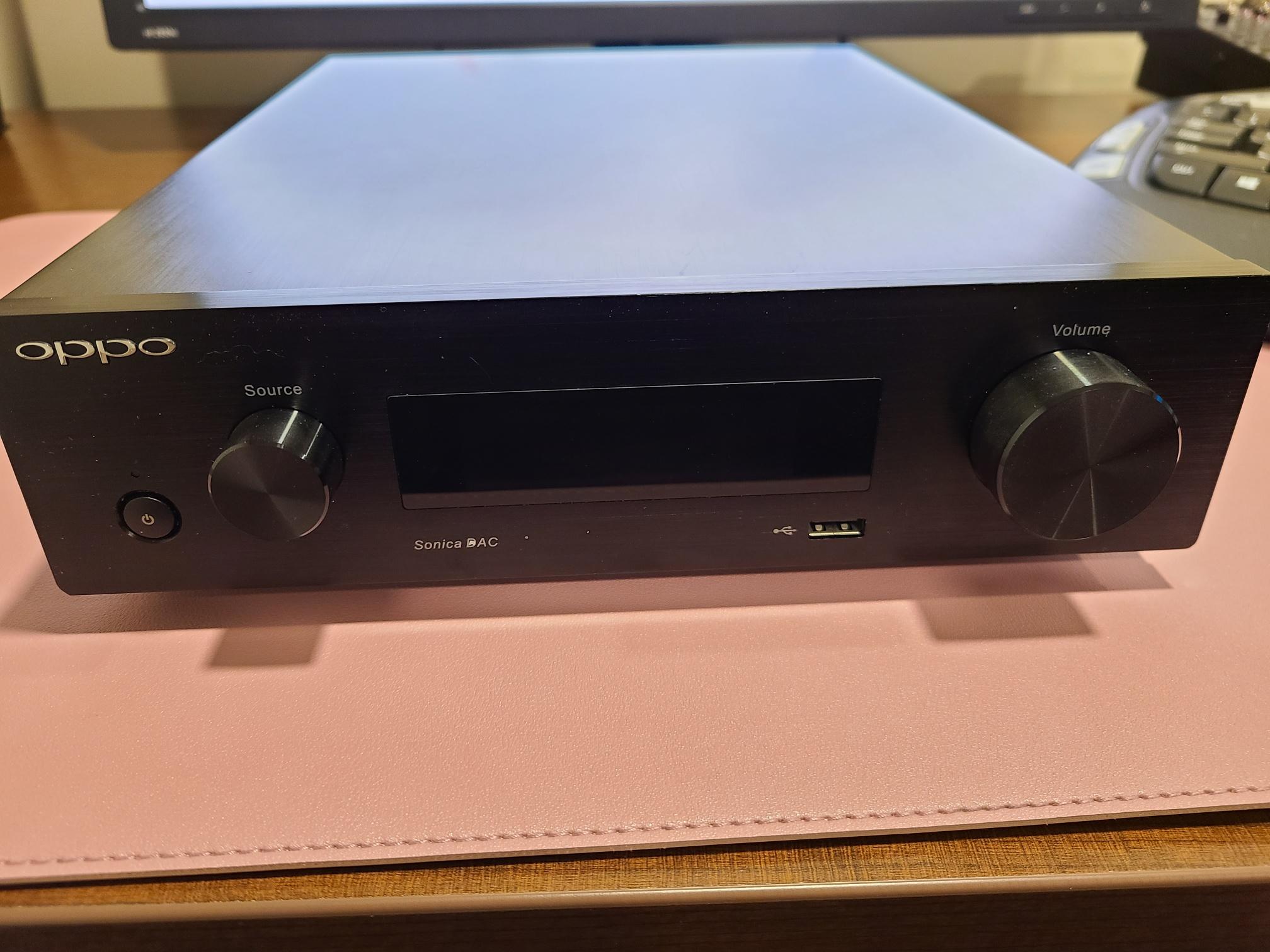 EVS Modded OPPO SONICA Dac/Streamer SOLD