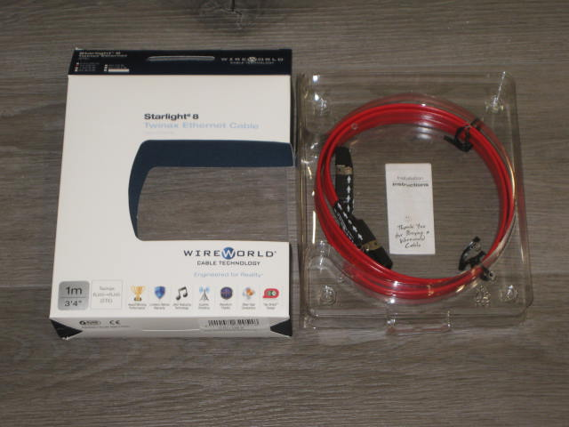 Wireworld Starlight 8 Twinax Ethernet Cable 1m/3' 4