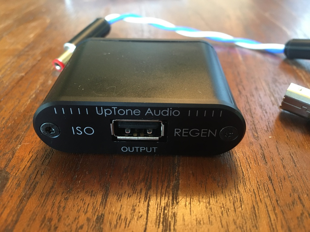 Uptone Audio ISO Regen plus USPCB plus custom DC cable