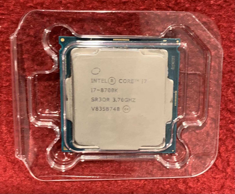 Intel i7-8700K Coffee Lake 3.7 GHz 8th Gen 6 Core Unlocked Processor LGA 1151