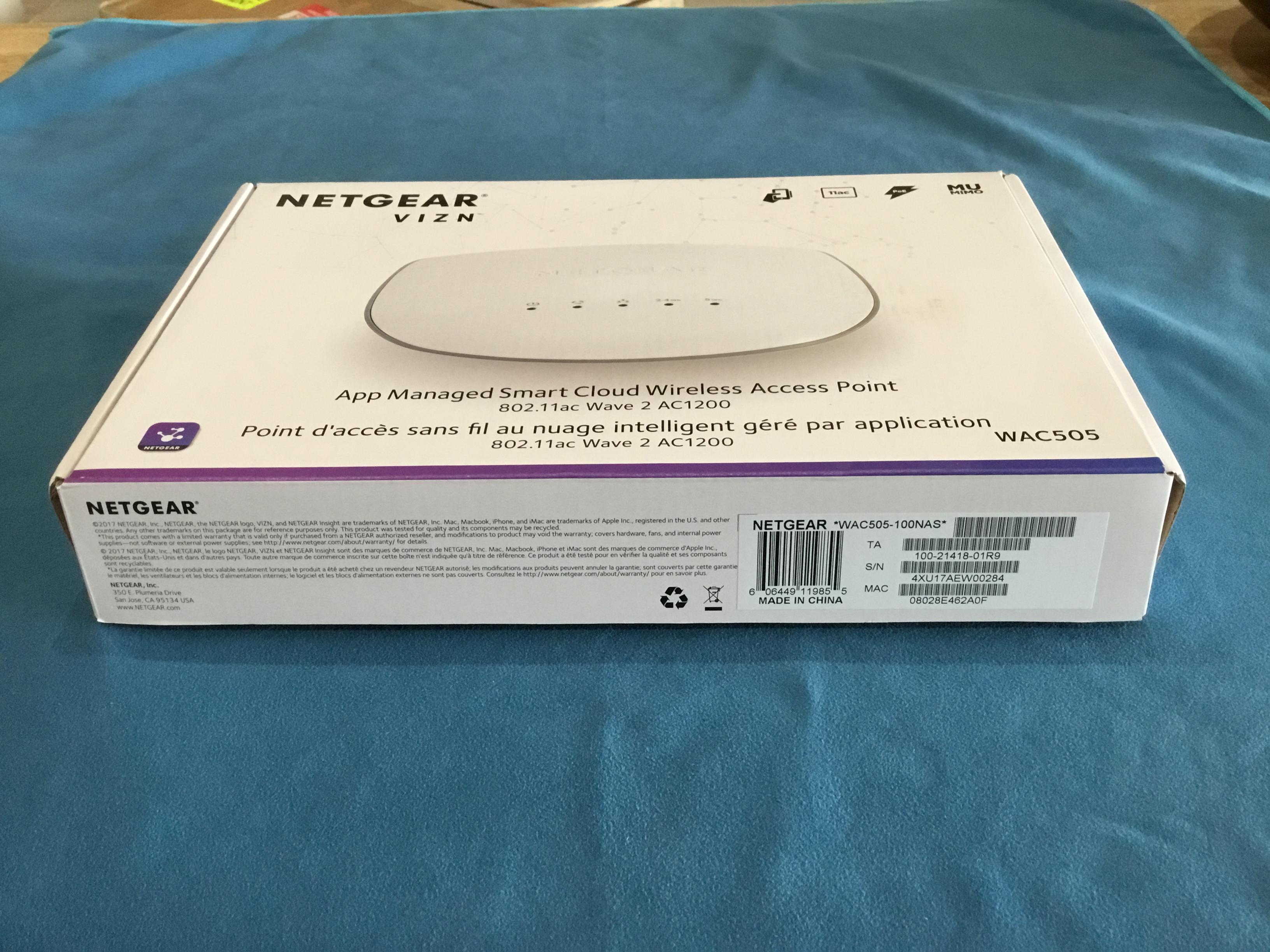 Netgear VIZN Wireless Access Point