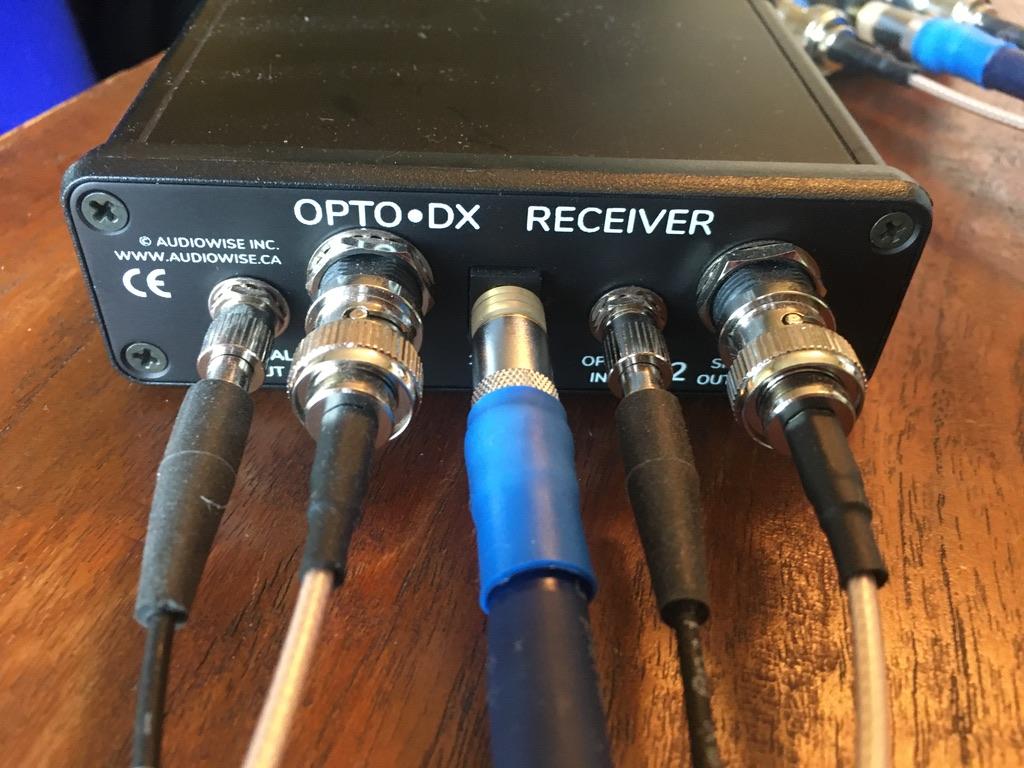Audiowise OPTO DX Optical Isolation Cable System plus Pilot Pro Batteries plus Ghent DC Cables