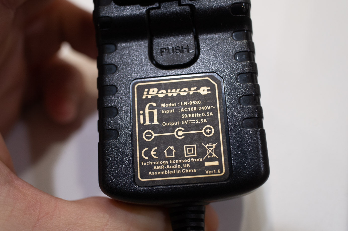 iFi AC iPower 5v SMPS adapter