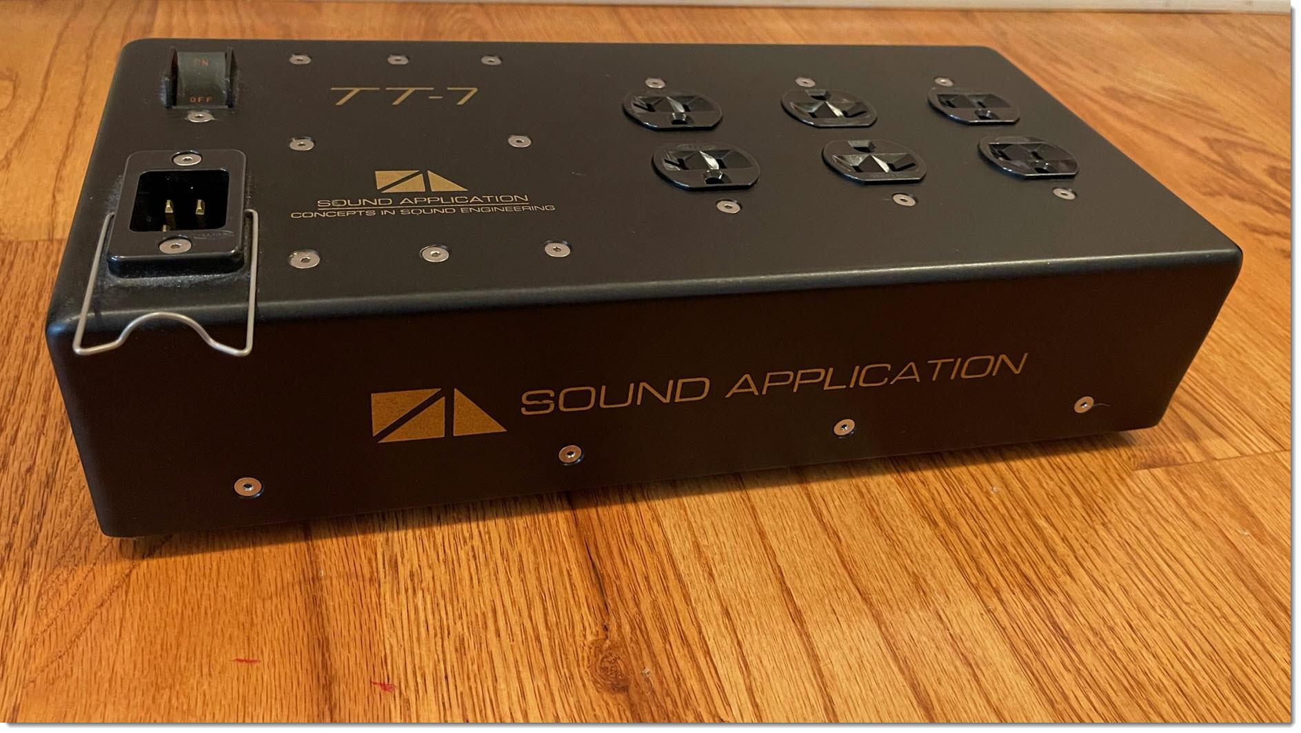 Sound Application TT-7.  Power Conditioner, US 120V