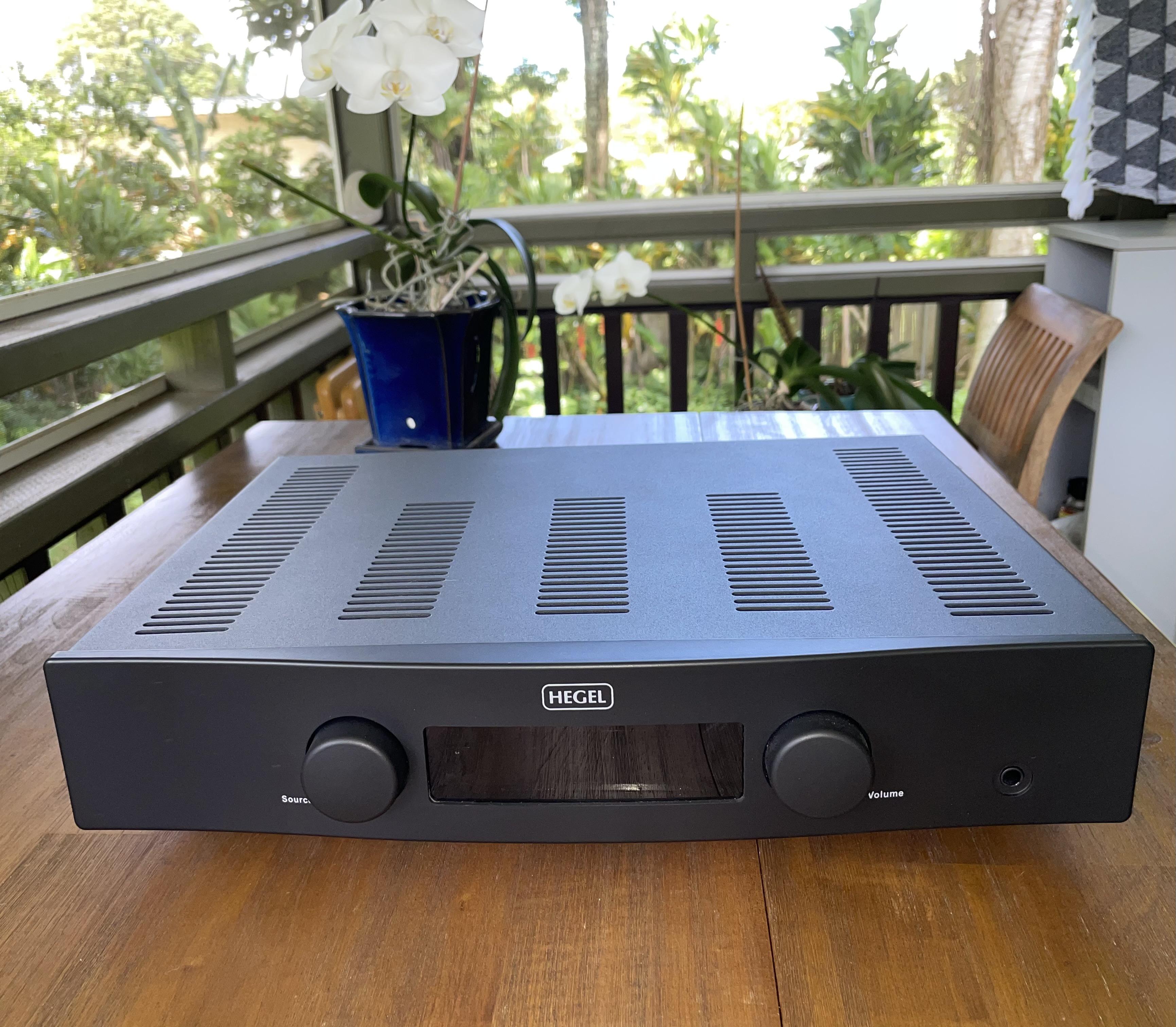 FS: Hegel H90 Integrated Amp (No longer for sale)