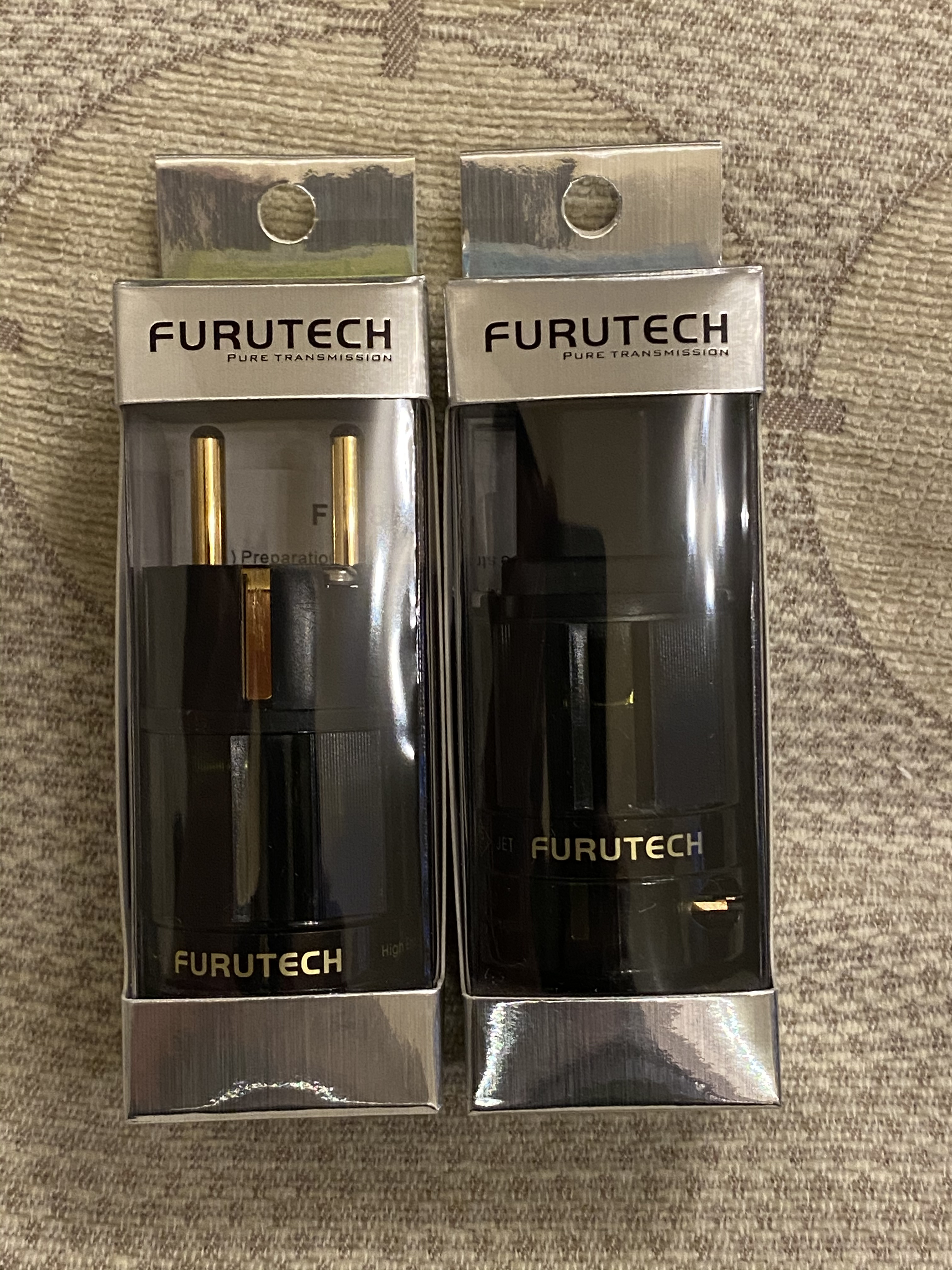 Furutech FI-E38 (G) Schuko& FI-28 (G)IEC