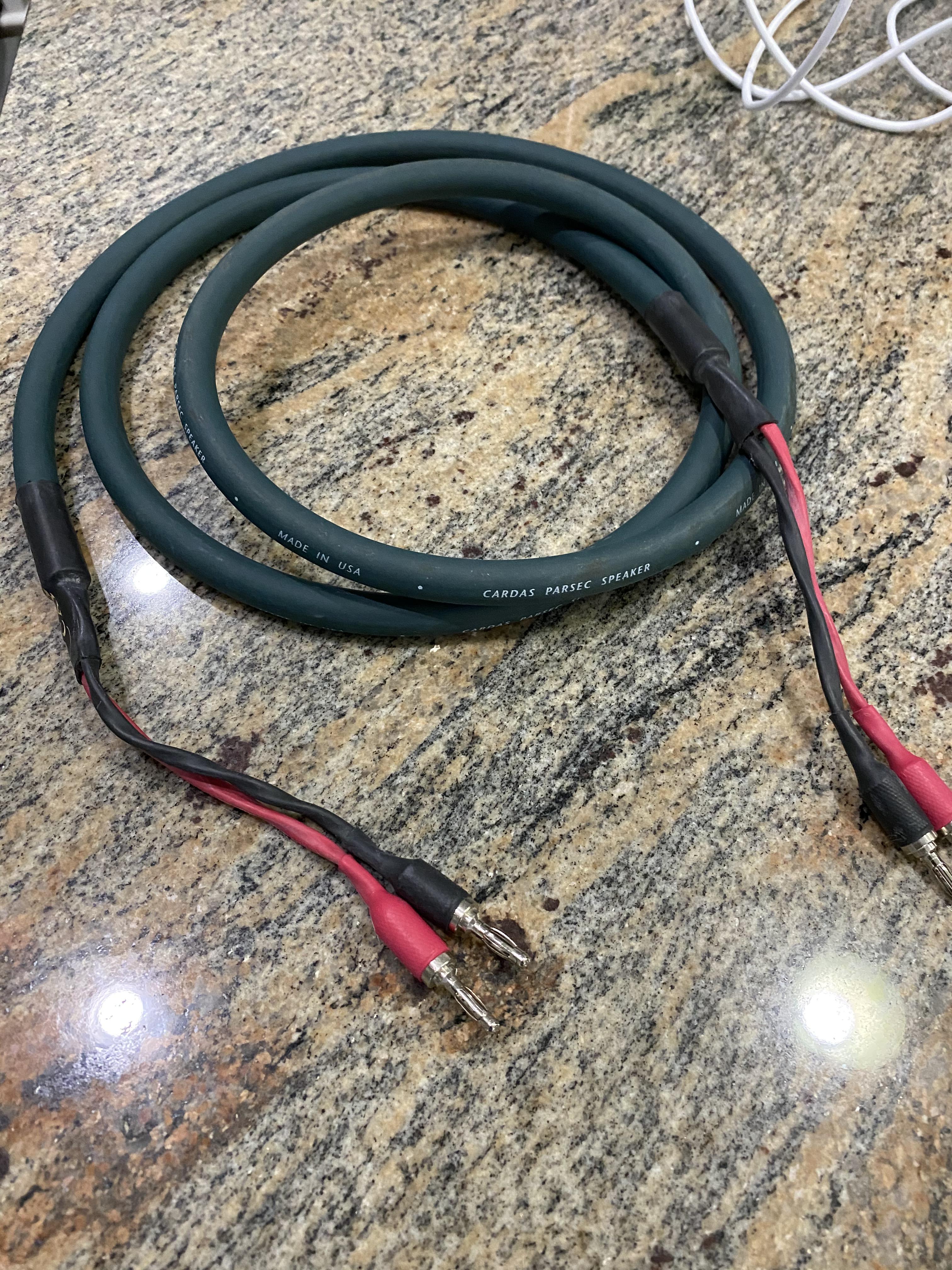 Cardas Parsec Speaker Cables