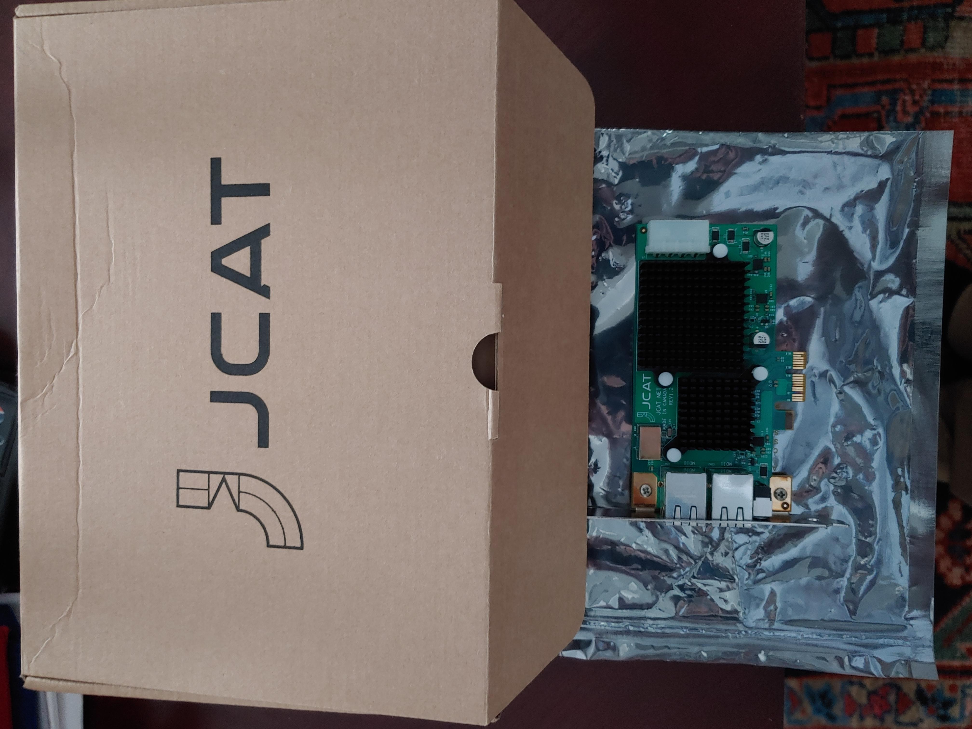 JCAT Net Card Femto (Rev 1.2)