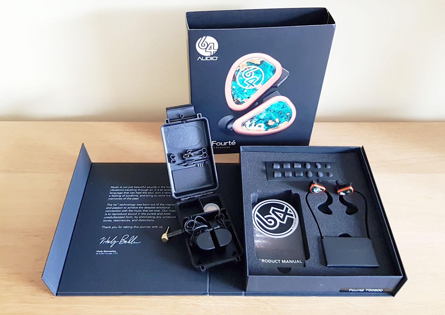 64 Audio Tia Fourté In-Ear Monitors - Like New